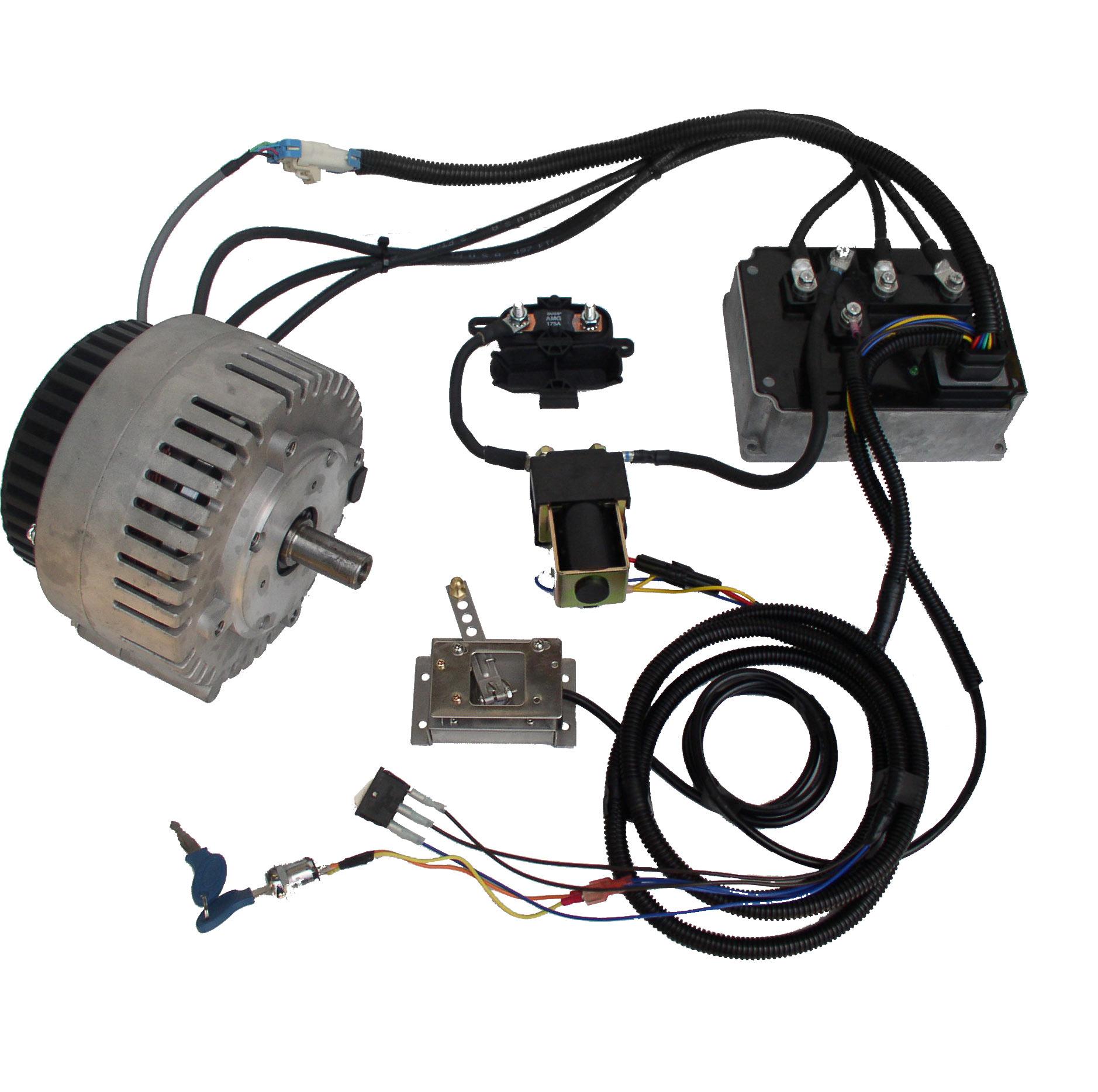 Etek motor weight for 15 hp brushless electric motor