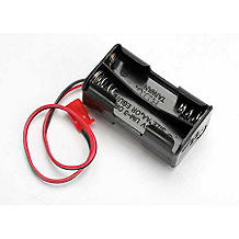 Traxxas 3039 4-Cell Battery Holder, Futaba Connector