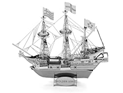Golden Hind Metal Sculpture
