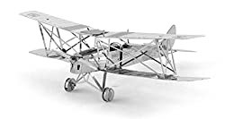 de Havilland Tiger Moth Metal Sculpture