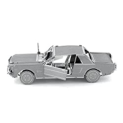 1965 Ford Mustang Metal Sculpture