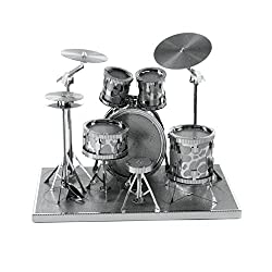 Drum Set Metal Sculpture