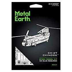 Metal Earth CH-47 Chinook Helicopter