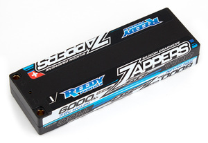 Reedy Zappers SG 6000mAh 110C 7.6V Lipo Battery, LP Stick