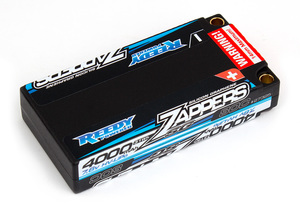 Reedy Zappers SG 4000mAh 80C 7.6V Lipo Battery, LP Shorty