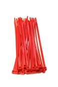 7 1/2 Red Tie Wraps (25 Pieces)