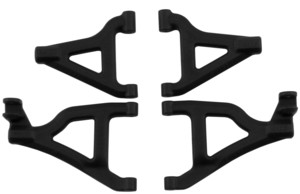 FRONT UPPER & LOWER CONTROL ARM SET FOR 1/16 TRAXXAS