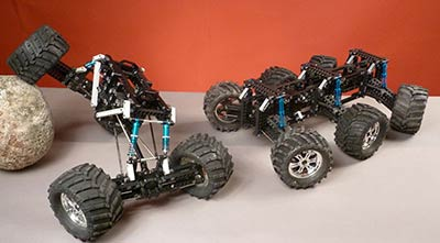 4WD & 6WD ConfigurationsESP-SPAO-001