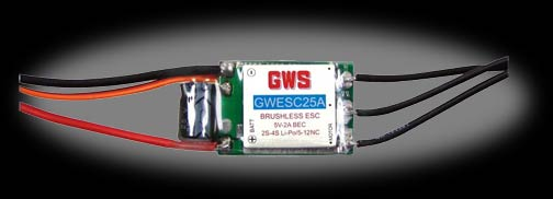 GWS 25A BLM Brushless Speed Controller