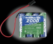 Hobbico HydriMax 2000mAh 4S 4.8V  NiMH Flat AA Receiver Pack