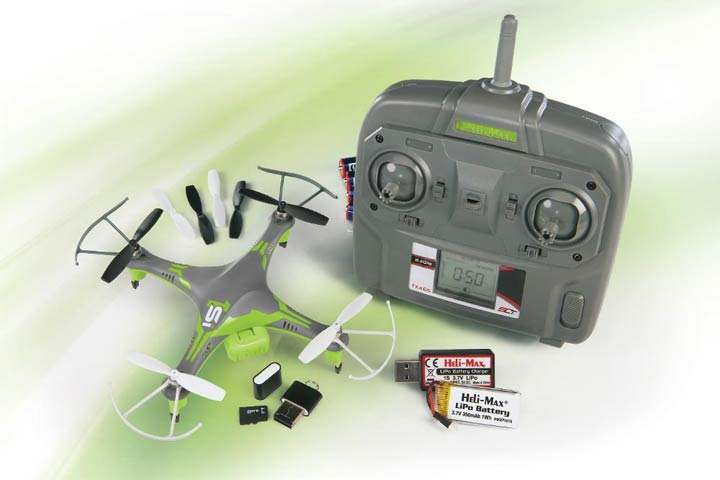 Heli-Max 1Si Quadcopter 2.4 GHz SLT RTF with Camera - HMXE0832