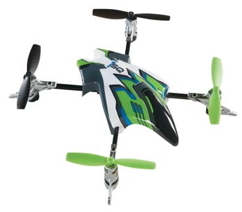 Heli-Max Canopy Set with Blades - Green 1SQ/1SQ V-Cam