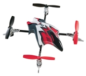 Heli-Max Canopy Set with Blades - Red 1SQ/1SQ V-Cam
