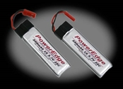 PowerEdge 550mAh 3.7V 1S Single Cell 25C LiPoly 2-Pack