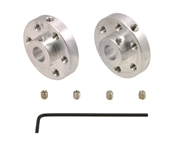6mm Aluminum Mounting Hub - Set of Two