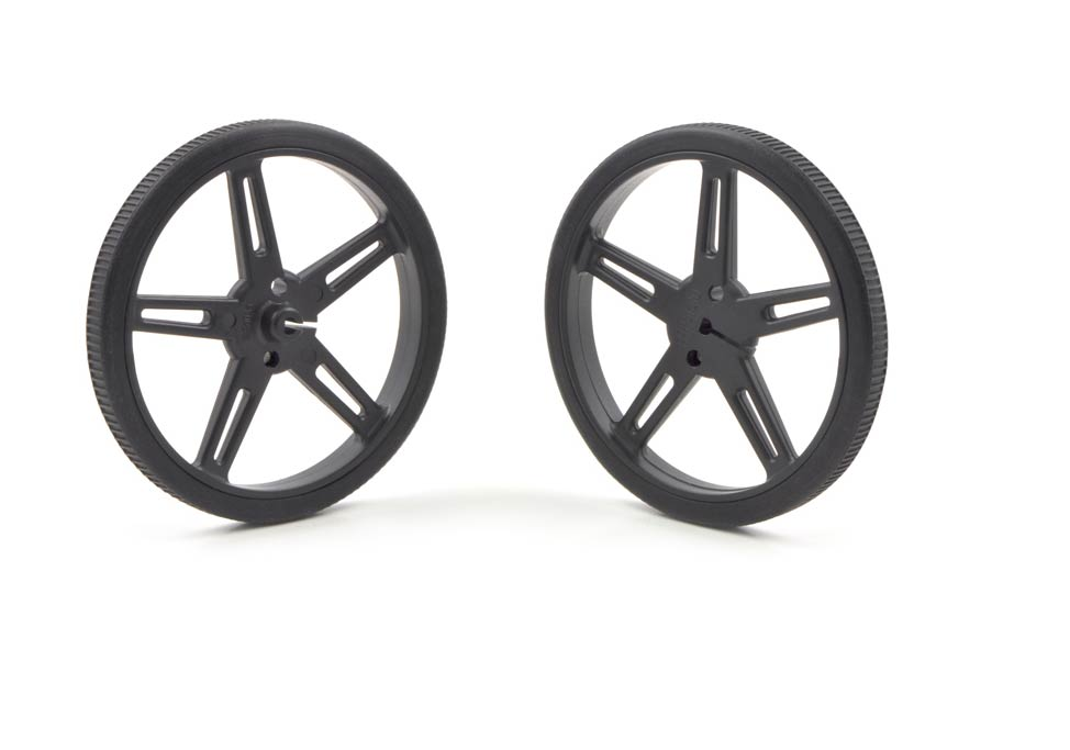 Pololu Wheel 70 x 8mm Pair - Black