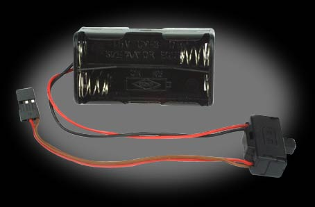 Battery Box with Switch: 1/2 Hydro ProBoat