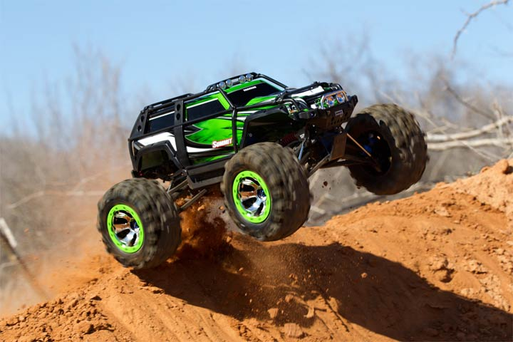 Traxxas 1/10 Summit 4WD Monster Truck RTR with TQi 2.4GHz - TRA56076