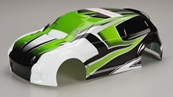 Traxxas 7513 LaTrax Rally Green Body with Decal
