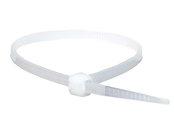 4 inch cable ties - 100 White