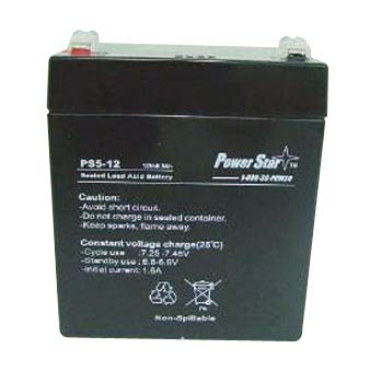 PowerStar 12V 5AH SLA Battery