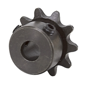 1/4 pitch Type B Sprocket - 10 teeth, 1/4 inch bore