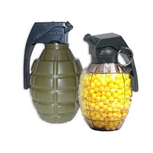 Grenade-Shaped Speed Loader with 800 0.20g BBs
