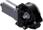 AME 210-series 12V 88in-lb LH gearmotor-shaft