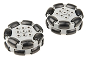 VEX IQ 200mm Travel Omni-Directional Wheel, 2-Pack