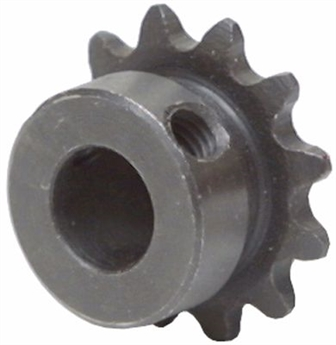 1/4 pitch Type B Sprocket - 12 teeth, 1/4 inch bore