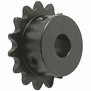 1/4 pitch Type B Sprocket - 13 teeth, 1/2 inch bore