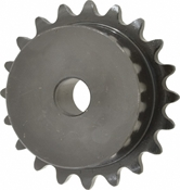 1/4 pitch Type B Sprocket - 24 teeth, 1/2 inch bore
