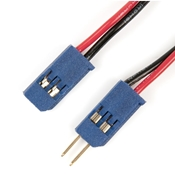VEX Robotics 6in. RC Extension Cable 2-Pin (pack of 4)