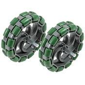 VEX Robotics 4in. Large Omni Directional Wheel Kit, 2-pack
