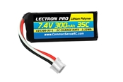 Lectron Pro 300mAh 2S 7.4V 35C LiPoly Pack - Blade 130