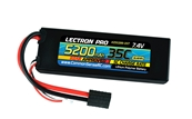 Lectron Pro 7.4V 5200mAh 35C Lipo Battery w/ Traxxas Connector
