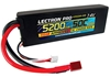 Lectron Pro 5200mAh 2S 7.4V 50C LiPoly Pack - Deans Connector