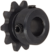 3/8 pitch Type B Sprocket - 10 teeth, 1/2 inch bore