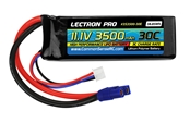Lectron Pro 11.1V 3500mAh 30C with EC3 Connector