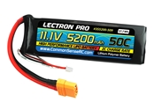 Lectron Pro 11.1V 5200mAh 50C Lipo Battery with XT90 Connector