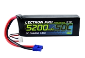 Lectron Pro 3S 5200mAh 11.1v 50C With EC3 Connector
