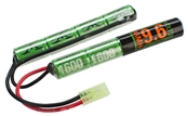 Battery - Valken Energy 9.6v NiMH 1600mAh Butterfly
