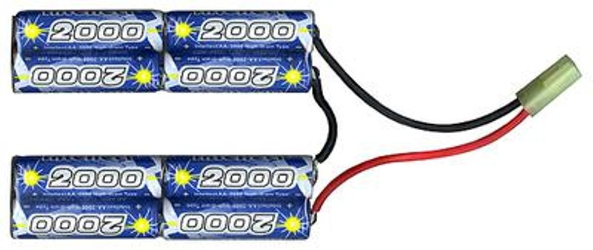 Intellect Butterfly- double crane/nunchuck 9.6V 2000mAh, NiMh battery pack