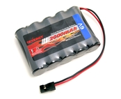Tenergy 6V 2000mAh Receiver NiMH Battery Pack W/ Hitec Connector For RC Aircrafts / Walking Robot