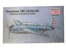 MINICRAFT #14414 1/144TH Scale WWII Gruman TBF Avenger
