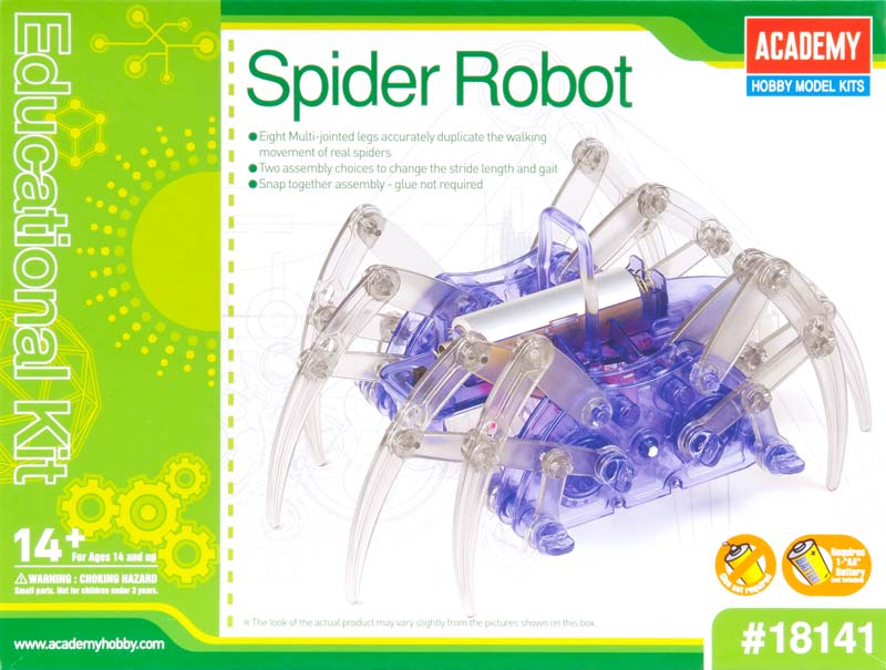 18141 Spider Robot Educational Kit