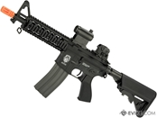 G&G GR15 Raider CQB-R Electric Blow Back Airsoft AEG Rifle (Tan)