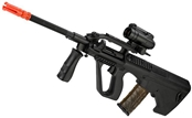 JG Newest Version AUG CIV Full Length Airsoft AEG Rifle - Black