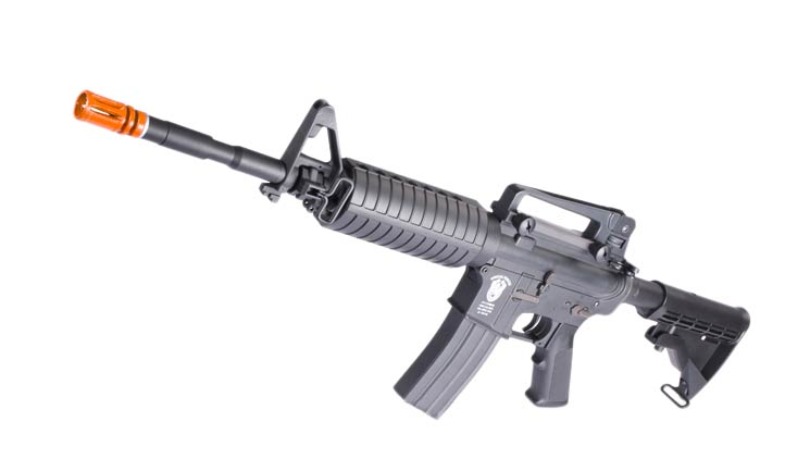 Matrix AIM Top Lipoly Ready Special Forces M4 Carbine Airsoft AEG Rifle - Black