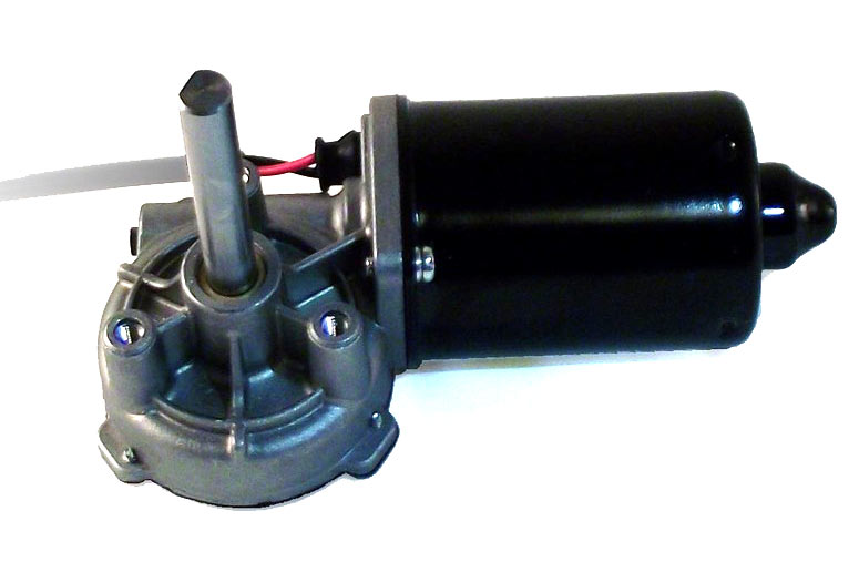 AME 218-series 24V 212 in-lb LH gearmotor - long shaft